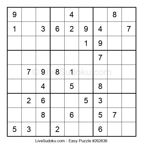 Beginners Puzzle #262636