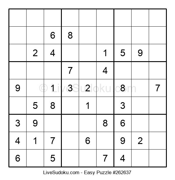 Beginners Puzzle #262637
