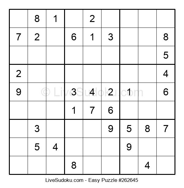 Beginners Puzzle #262645