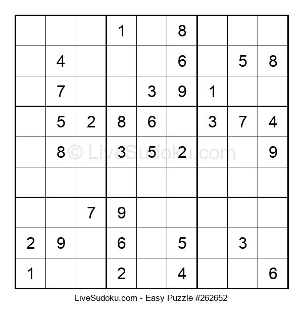 Beginners Puzzle #262652