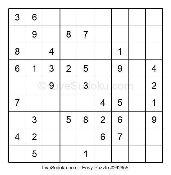 Beginners Puzzle #262655