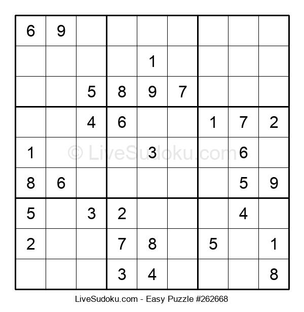 Beginners Puzzle #262668