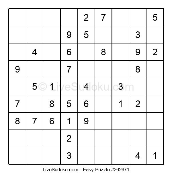 Beginners Puzzle #262671