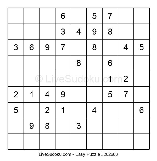Beginners Puzzle #262683