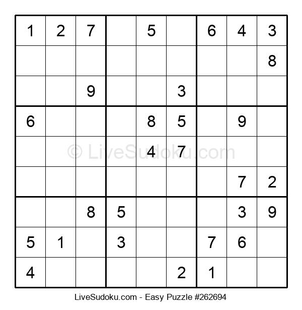 Beginners Puzzle #262694