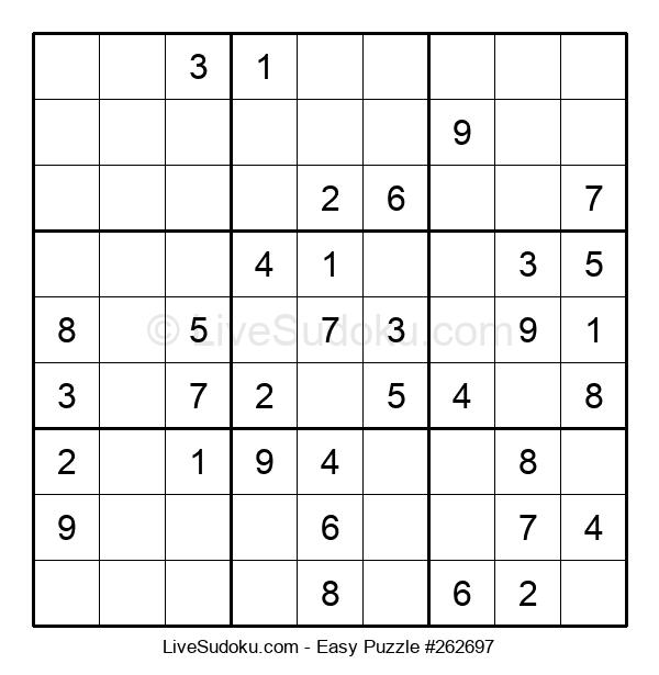 Beginners Puzzle #262697
