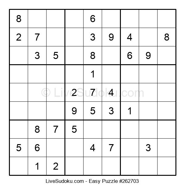 Beginners Puzzle #262703