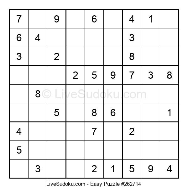 Beginners Puzzle #262714