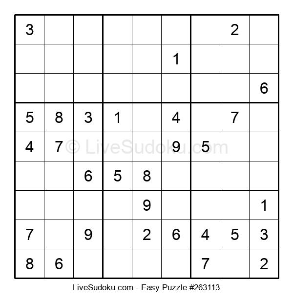 Beginners Puzzle #263113