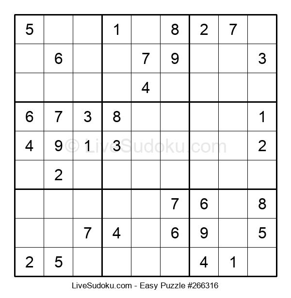 Beginners Puzzle #266316