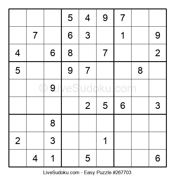 Beginners Puzzle #267703