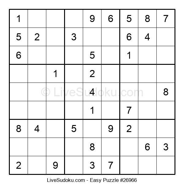 Beginners Puzzle #26966