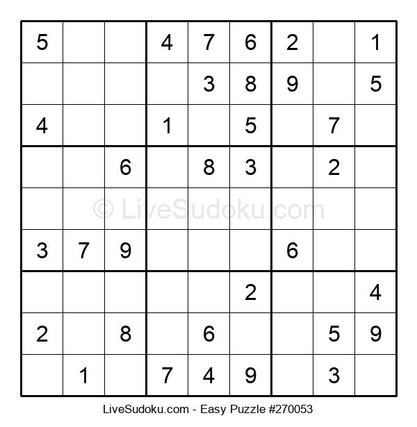 Beginners Puzzle #270053