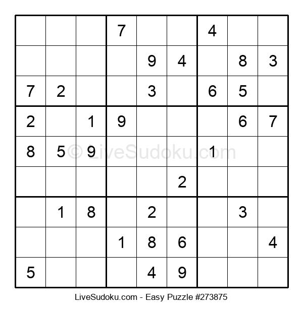 Beginners Puzzle #273875