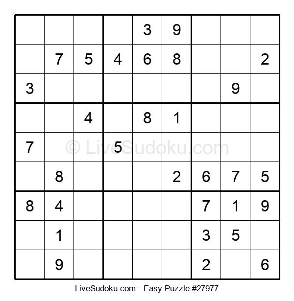 Beginners Puzzle #27977