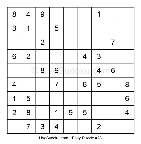 Beginners Puzzle #28