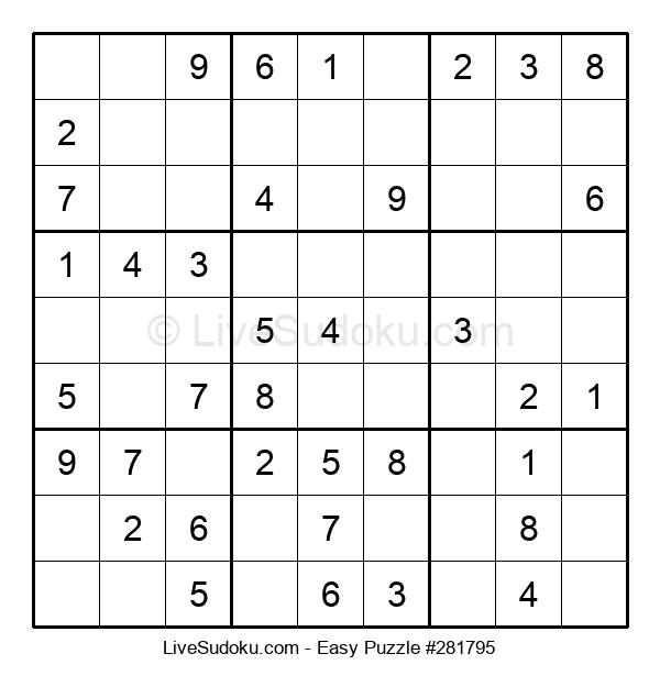 Beginners Puzzle #281795