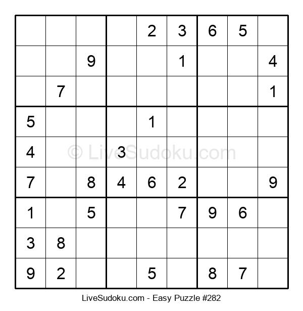 Beginners Puzzle #282