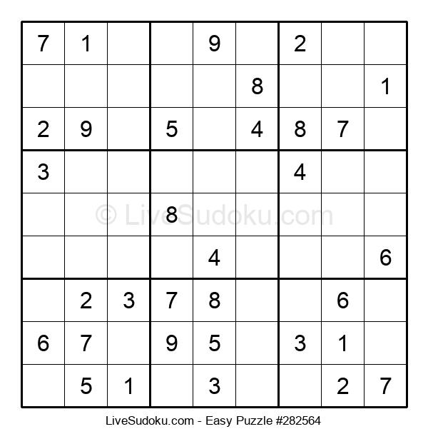 Beginners Puzzle #282564