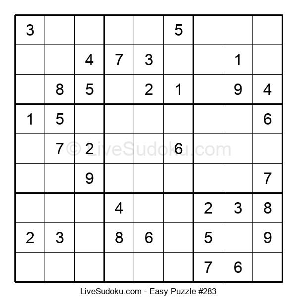 Beginners Puzzle #283