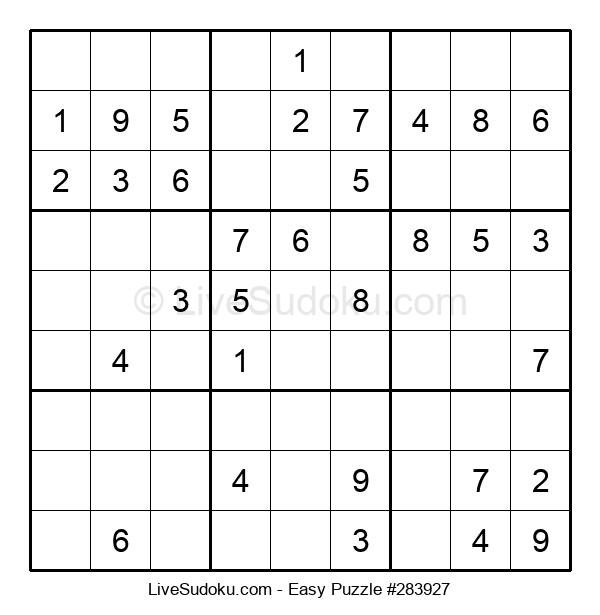Beginners Puzzle #283927
