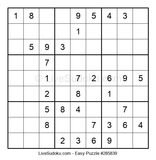 Beginners Puzzle #285839