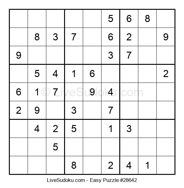 Beginners Puzzle #28642