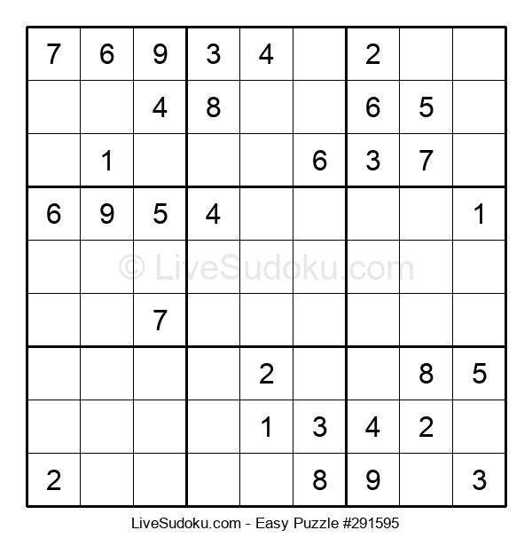 Beginners Puzzle #291595