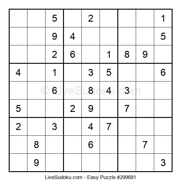 Beginners Puzzle #299681