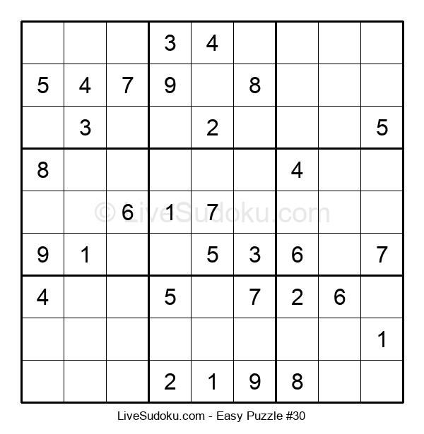 Beginners Puzzle #30