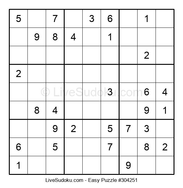 Beginners Puzzle #304251