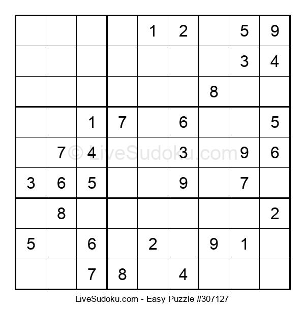 Beginners Puzzle #307127