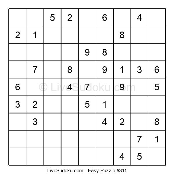 Beginners Puzzle #311