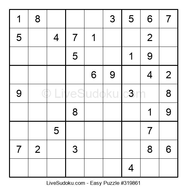 Beginners Puzzle #319861