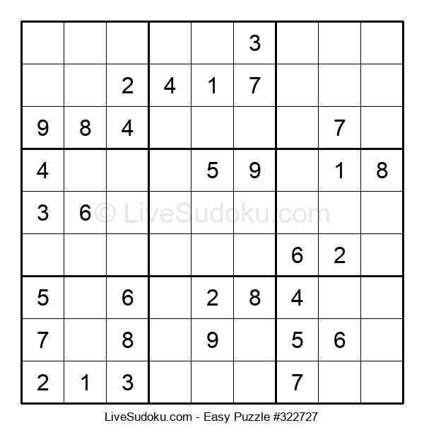 Beginners Puzzle #322727