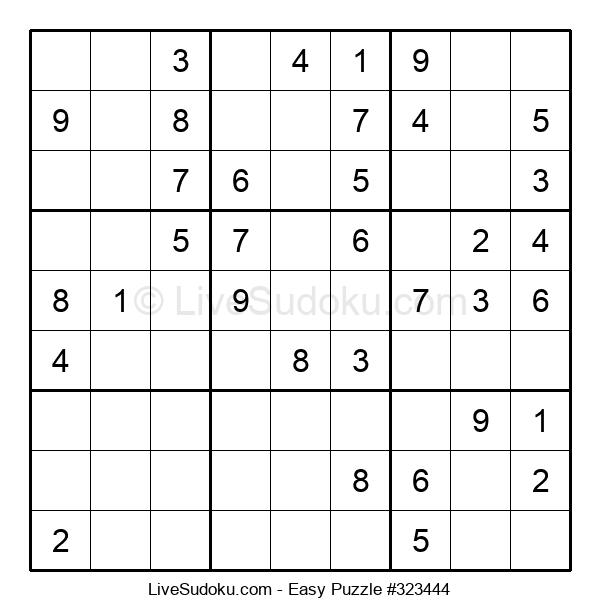 Beginners Puzzle #323444