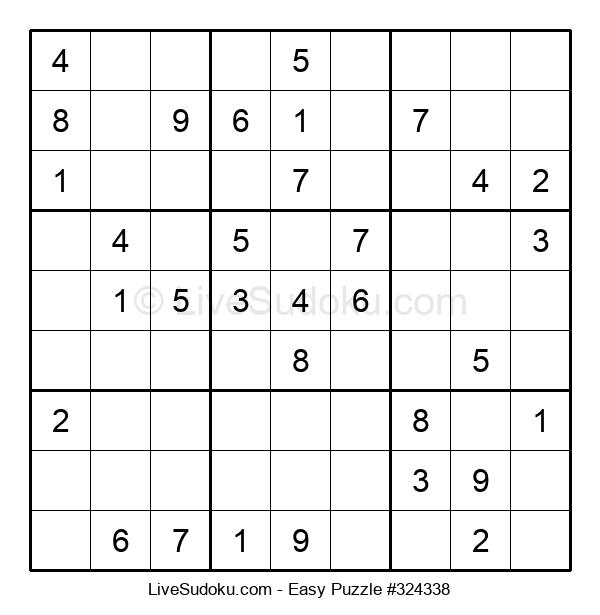 Beginners Puzzle #324338