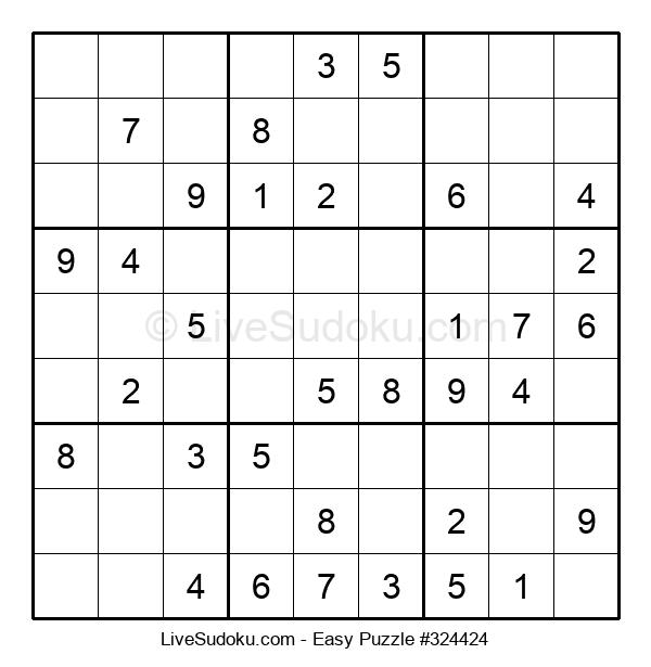 Beginners Puzzle #324424