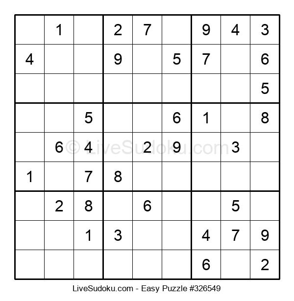 Beginners Puzzle #326549