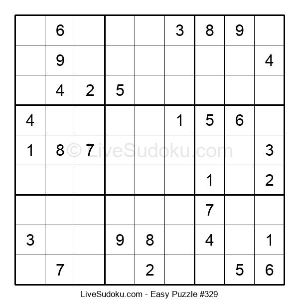 Beginners Puzzle #329