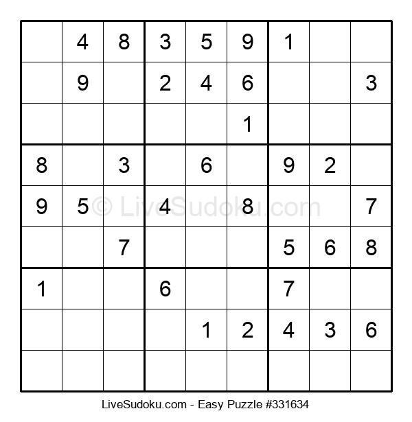 Beginners Puzzle #331634