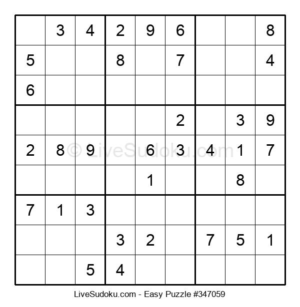 Beginners Puzzle #347059