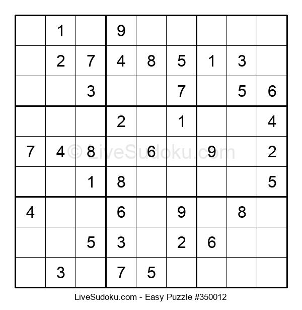 Beginners Puzzle #350012