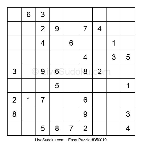 Beginners Puzzle #350019