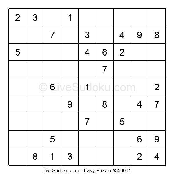 Beginners Puzzle #350061