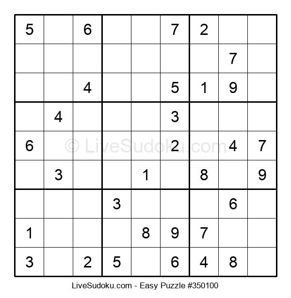 Beginners Puzzle #350100