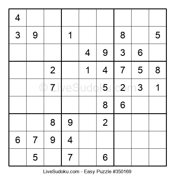 Beginners Puzzle #350169