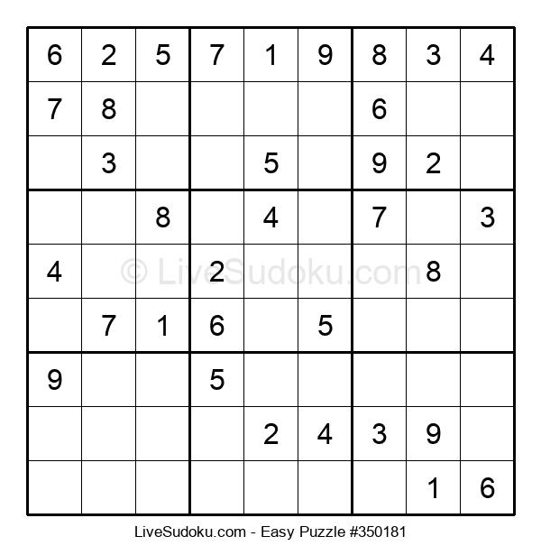 Beginners Puzzle #350181