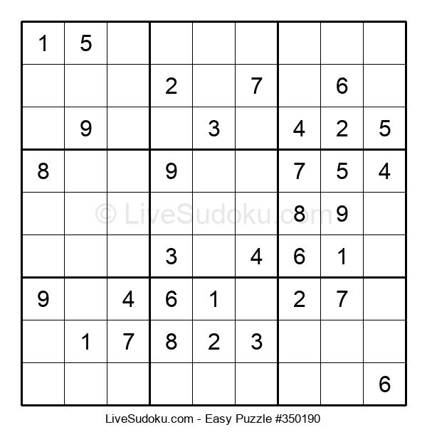Beginners Puzzle #350190