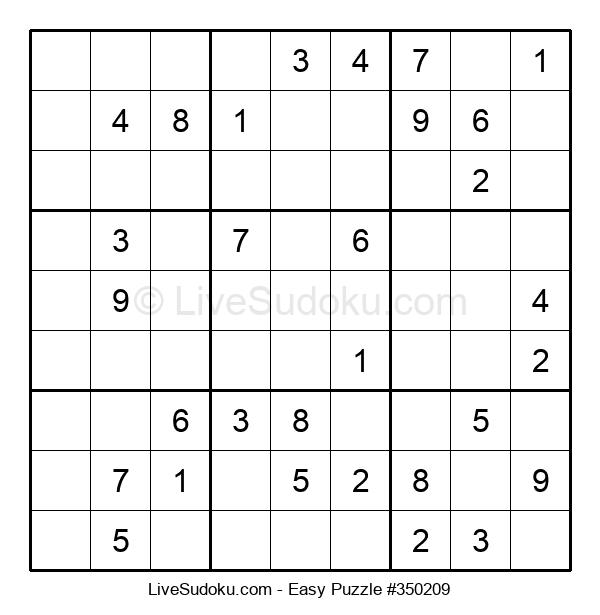 Beginners Puzzle #350209